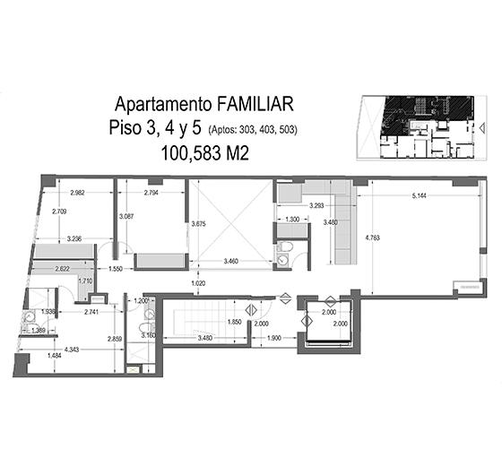 arquitectonico familiar